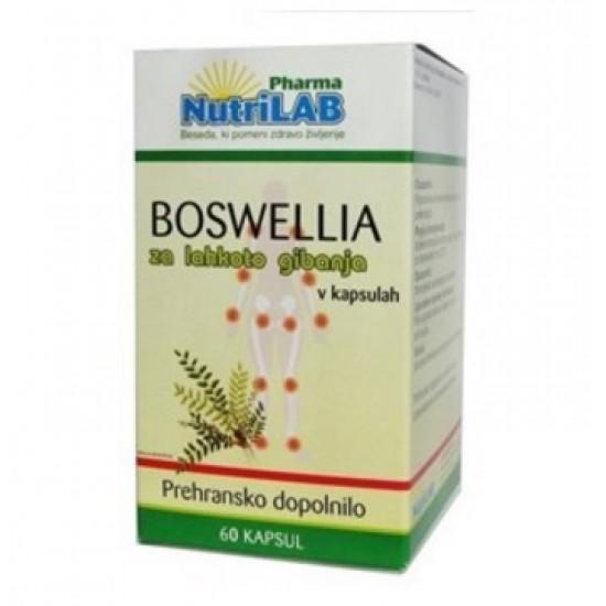 Nutrilab Boswellia, kapsule Prehrana in dopolnila