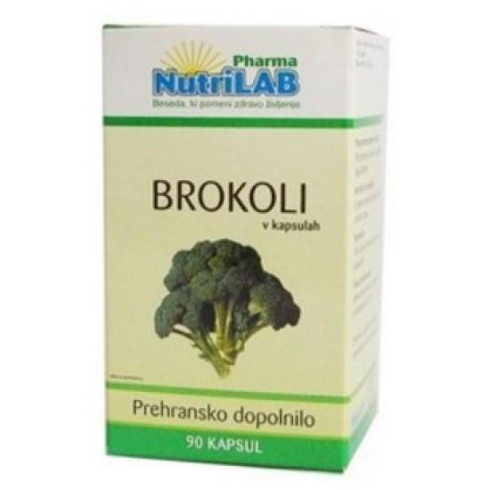 Nutrilab Brokoli, kapsule Prehrana in dopolnila