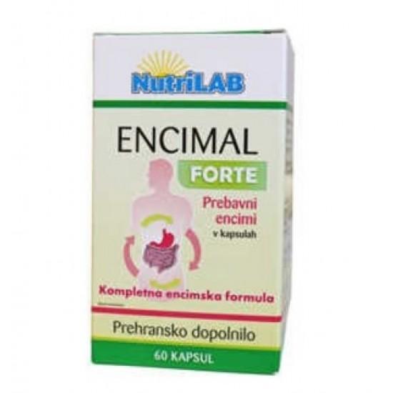 Nutrilab Encimal Forte, kapsule Prehrana in dopolnila