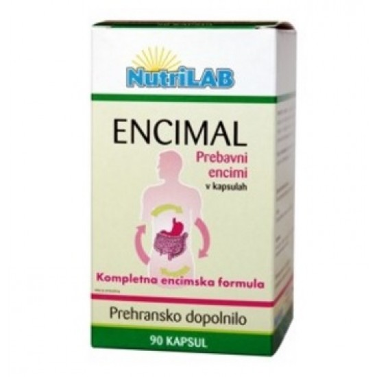 Nutrilab Encimal, kapsule Prehrana in dopolnila