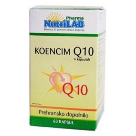 Nutrilab Koencim Q10, kapsule Prehrana in dopolnila