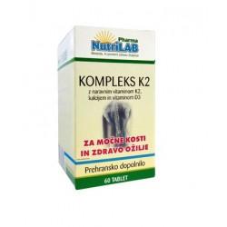 Nutrilab Kompleks K2, 60 tablet