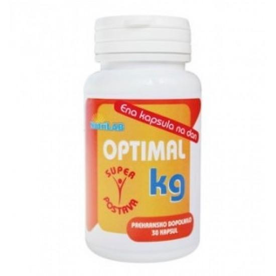 Nutrilab Optimal KG, kapsule Prehrana in dopolnila