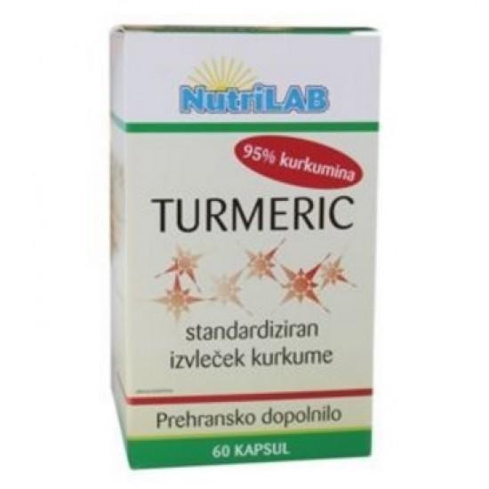 Nutrilab Turmeric, kapsule Prehrana in dopolnila