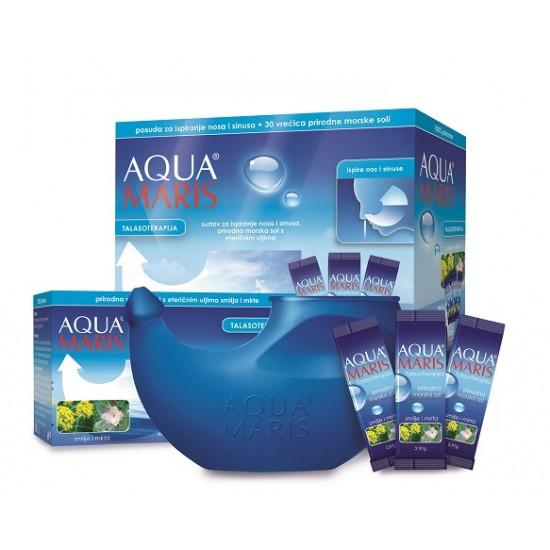 AQUA MARIS® TALASOTERAPIJA, sistem za izpiranje nosa in sinusov Pripomočki in zaščita