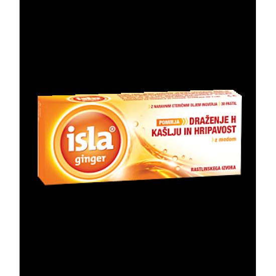 Isla ingver, pastile Prehrana in dopolnila