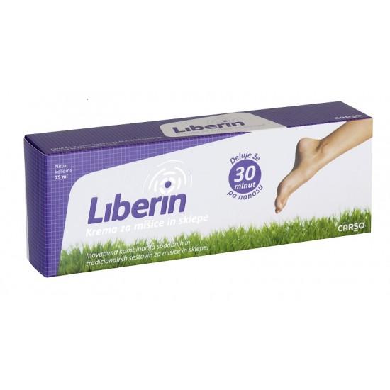 Liberin, krema za mišice in sklepe Pripomočki in zaščita