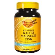 Natural Wealth Kalcij - Magnezij - Cink, tablete