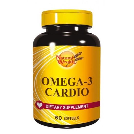 Natural Wealth Omega-3 Kardio, kapsule Prehrana in dopolnila
