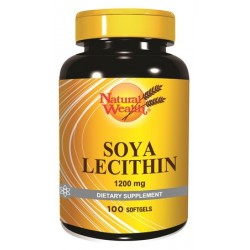 Natural Wealth Sojin Lecitin, kapsule
