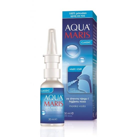 AQUA MARIS Classic, pršilo za nos Pripomočki in zaščita