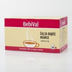 BebiVal čaj za dojenje, filt. 20x