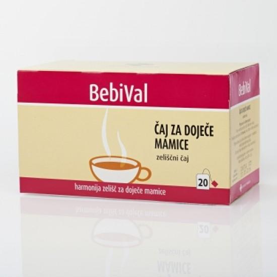 BebiVal čaj za dojenje, filt. 20x Prehrana in dopolnila