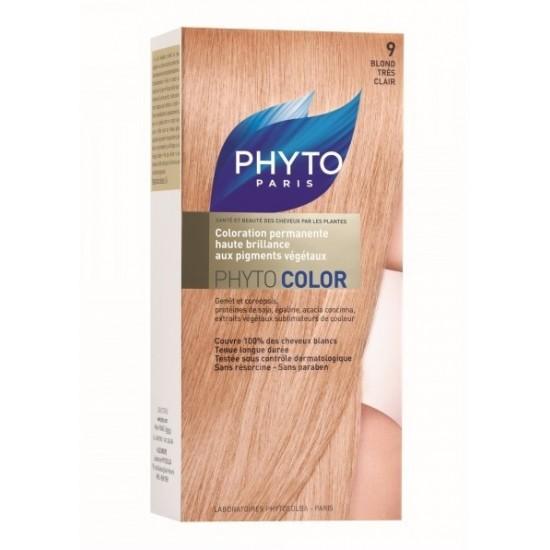 Phytocolor 9 zelo svetla blond barva Kozmetika