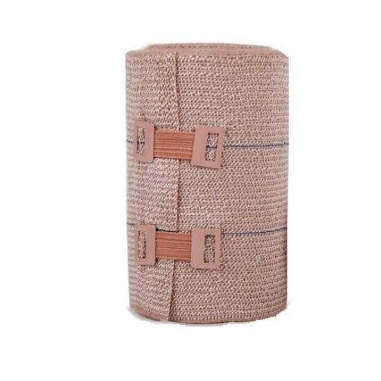 Vivavene dolgoelastični kompresijski povoj 15 cm x 10 m Pripomočki in zaščita
