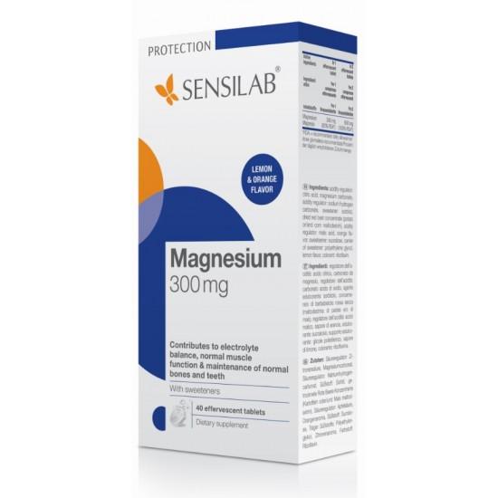 Sensilab Magnezij 300 mg, šumeče tablete Prehrana in dopolnila