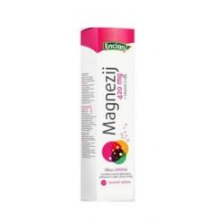 Encian Magnezij 420mg + Vitamin C+ B6, šumeče tablete