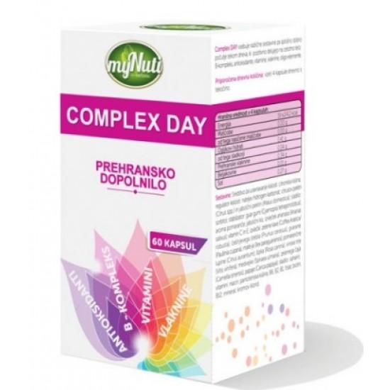 My Nuti Complex Day, kapsule Prehrana in dopolnila