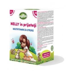 My Nuti Nelly in prijatelji - multivitamini za otroke 3+, želejčki