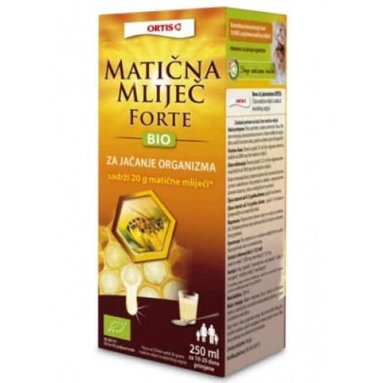 Ortis Matični mleček forte, sirup Prehrana in dopolnila