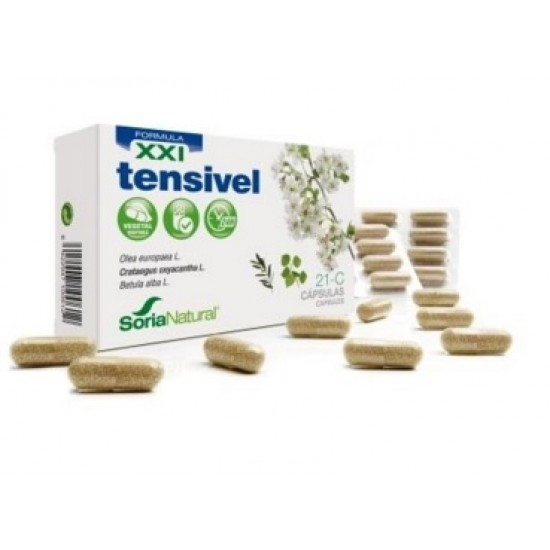 Soria Natural Tensivel XXI, tablete Prehrana in dopolnila