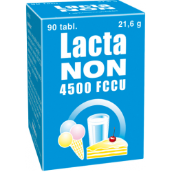 Lactanon 4500 FCCU, 90 tablet