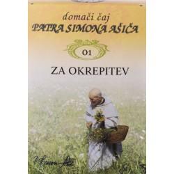 Domači čaj patra Simona Ašiča 01 - za okrepitev
