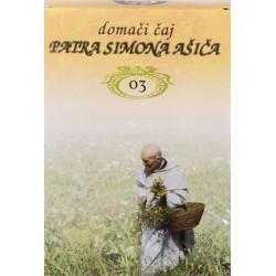 Domači čaj patra Simona Ašiča 03- za sladkorne bolnike