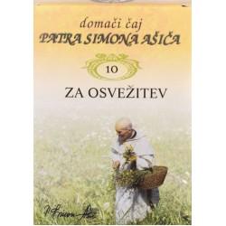 Domači čaj patra Simona Ašiča 10 - za osvežitev