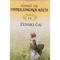 Domači čaj patra Simona Ašiča 12 - za ženske