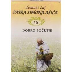 Domači čaj patra Simona Ašiča 16 - čaj za dobro počutje