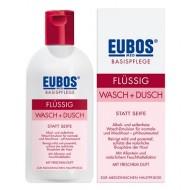 Eubos, odišavljena čistilna emulzija brez mila za telo- 200 ml