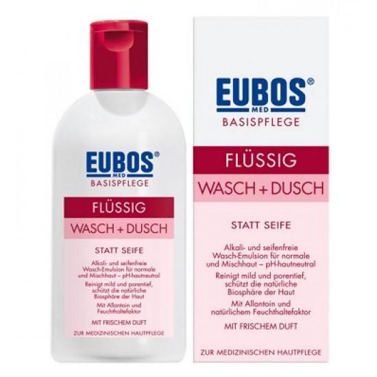Eubos, odišavljena čistilna emulzija brez mila za telo- 200 ml Kozmetika