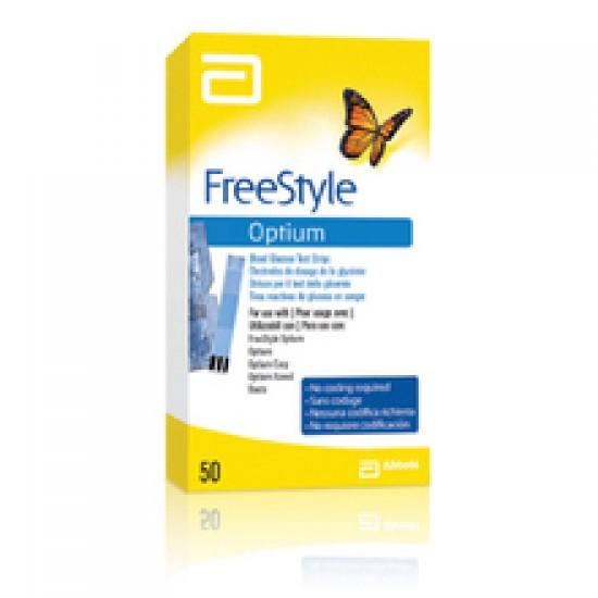 FreeStyle Optium, testni lističi Pripomočki in zaščita