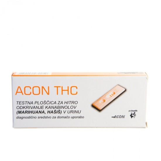 Acon THC test za odkrivanje marihuane in hašiša Pripomočki in zaščita