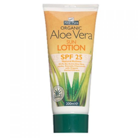 Aloe Pura Aloe Vera, zaščitni losjon - ZF 25 Kozmetika