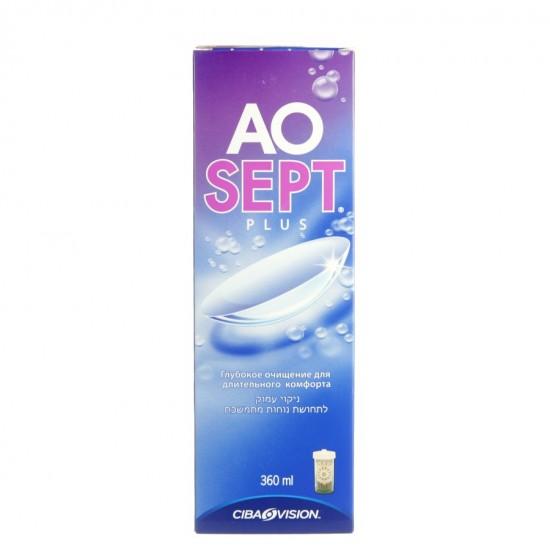 Aosept Plus, tekočina za poltrde in trde leče Pripomočki in zaščita
