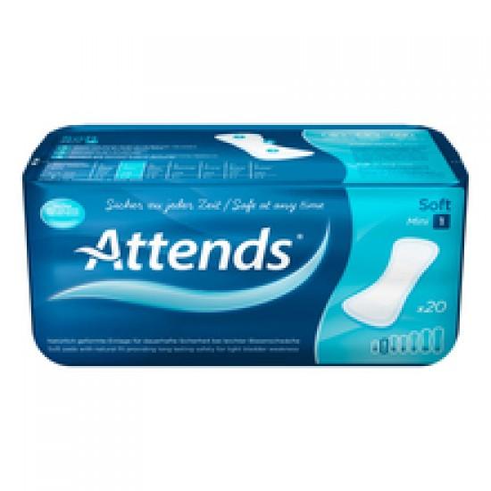 Attends Soft Mini 1, predloge za lažjo inkontinenco Pripomočki in zaščita
