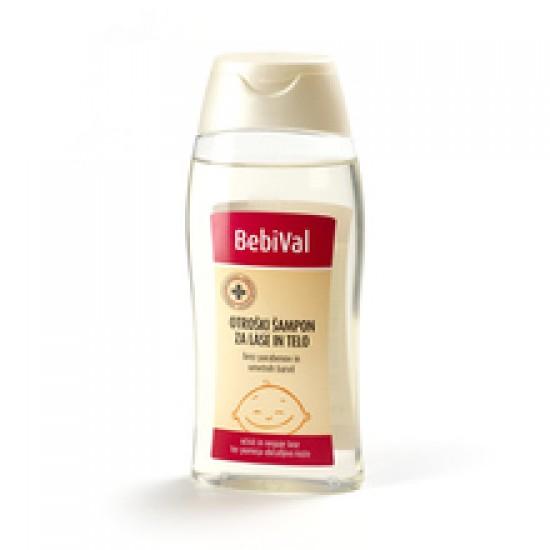 BebiVal šampon za lase in telo Kozmetika