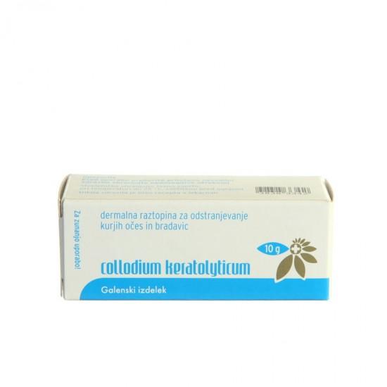 Colloidium Keratolityticum, dermalna raztopina Kozmetika