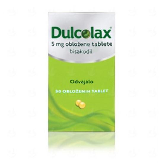 Dulcolax 5 mg, obložene tablete Zdravila brez recepta