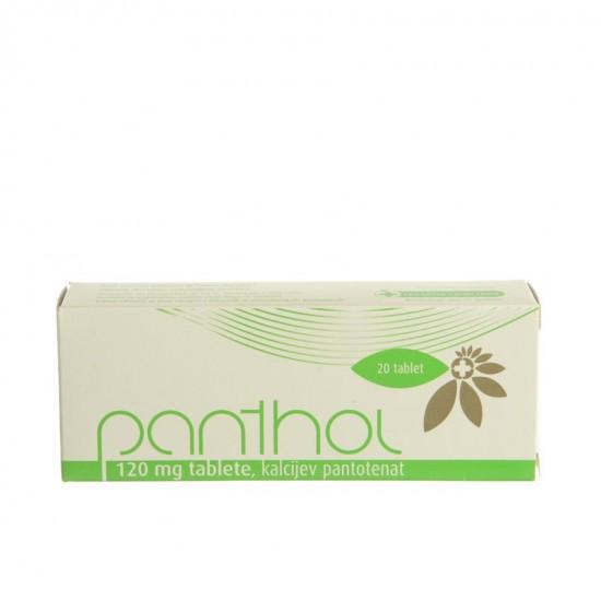 Panthol 120 mg, tablete Zdravila brez recepta