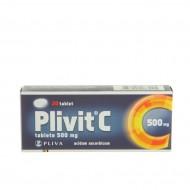 Plivit C 500 mg, tablete