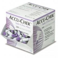 Accu-Chek Safe-T-Pro Plus, 200 lancet