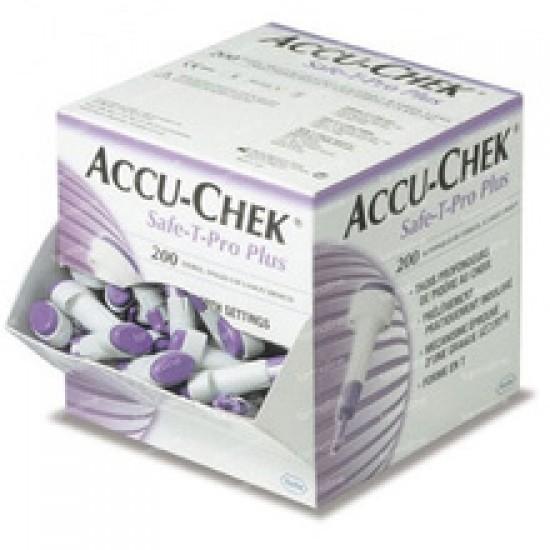Accu-Chek Safe-T-Pro Plus, 200 lancet Pripomočki in zaščita