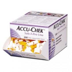 Accu-Chek Safe-T-Pro Uno, 200 lancet