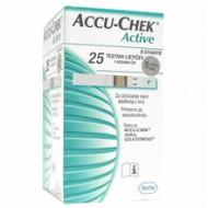 Accu-Chek Active, 25 testnih lističev
