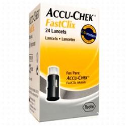 Accu-Chek Fastclix, 24 lancet v disku