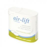 Air-Lift, kapsule proti zadahu