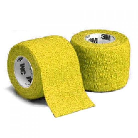Coban samooprijemljivi elastični povoj 7,5 cm x 4,6 m - rumen Pripomočki in zaščita
